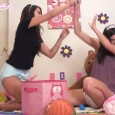 Another video exclusively for the wonderful members of diapermess.com! Nikki's sitting in her very full poopy diaper. But that doesn't stop her from still playing around! These teenage hotties end up […]