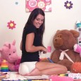 Katarina is another incredibly hot teenage diaper girl we have here. And she just LOVES diaper play! She's playing with toys in the nursery when she realizes she has to […]