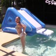 Super cute video of Alyssa enjoying playing in a backyard pool in a diaper! Seriously, how super cute is Alyssa! She has such a fun personality in such a tiny […]