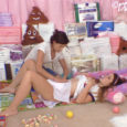 Teen Mommy Nikki is teaching young Anastasia how to organize the letter blocks. Anastasia gets the urge to pee, so Nikki moves the blocks to the side and makes Anastasia comfortable […]
